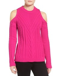 Vince Camuto Cold Shoulder Sweater