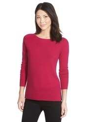 Halogen crewneck lightweight cashmere sweater medium 390373