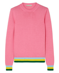 Mary Katrantzou Lizzie Striped Cotton Sweater