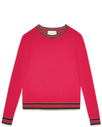 Gucci Merino Wool Knit Top