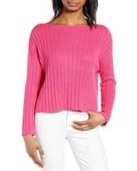 BP. Ribbed Boatneck Sweater