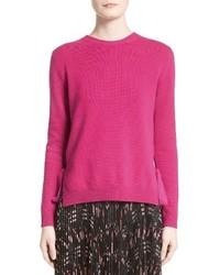 Valentino Side Tie Cashmere Sweater