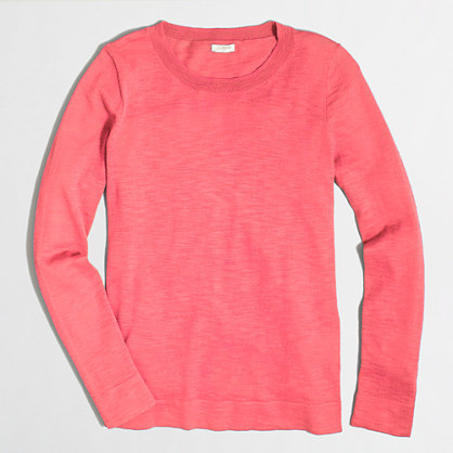 Jcrew Factory Teddie Sweater Where To Buy How To Wear