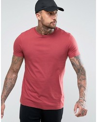 Asos Longline T Shirt With Crew Neck