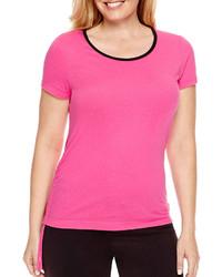 Made For Life Short Sleeve Contrast Trim T Shirt