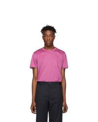Moncler Pink Maglia T Shirt