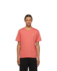 Acne Studios Red Nash Patch T Shirt