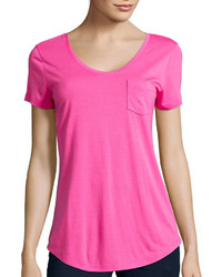 Stylus Stylus Relaxed Fit Scoop Neck T Shirt