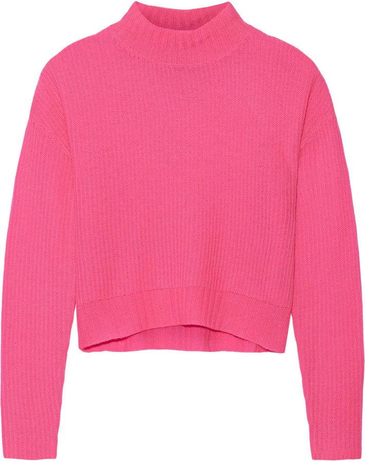 Line Briony Cropped Cashmere Sweater   Where to buy & how to wear