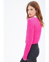 Forever 21 Easy Cropped Sweater   Where to buy & how to wear