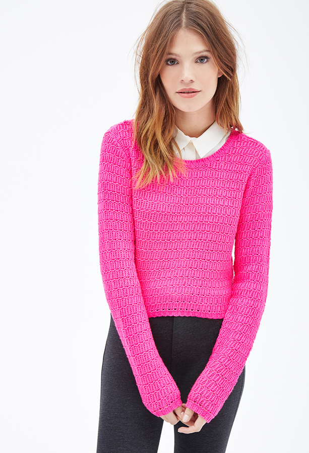 Forever 21 Easy Cropped Sweater | Where to buy & how to wear