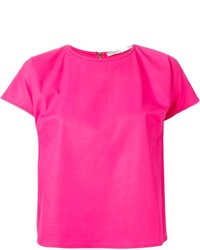 Giambattista Valli Cropped Boxy T Shirt