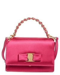Salvatore Ferragamo Ginny Mini Crossbody Bag Pink