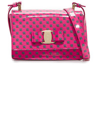 Salvatore Ferragamo Mini Vara Zoo Cross Body Bag