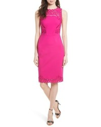 d6e653f7463a27 ... Ted Baker London Verita Cutout Yoke Sheath Dress