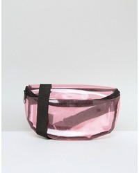 Missguided Transparent Glitter Fanny Pack
