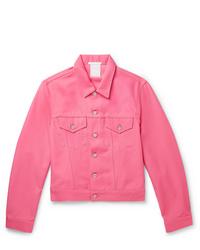 Hot Pink Denim Jacket
