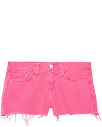 1046 neon low rise cut off denim shorts medium 23934