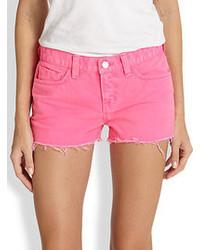 Hot Pink Denim Shorts for Women | Women's Fashion
