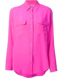 Hot pink dress shirt original 4208903