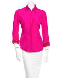 CNC Costume National Costume National Silk Blouse