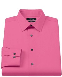 Apt. 9 Slim Fit Stretch Spread Collar Dress Shirt