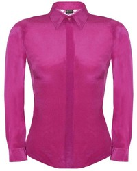 Sophie Cameron Davies Fitted Silk Shirt