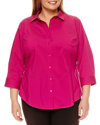 216ea7e0a0d926 jcpenney Stylus Stylus Classic Fit Button Front Oxford Shirt Out of stock ·  Worthington Worthington 34 Sleeve Button Front Shirt Plus