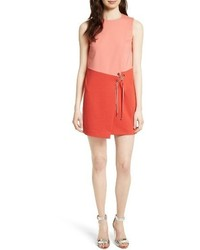 c1497c31683a21 ... Ted Baker London Mivis Colorblock Crossover Front Tunic Dress