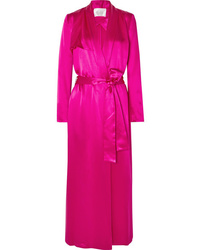 Galvan Silk Satin Trench Coat