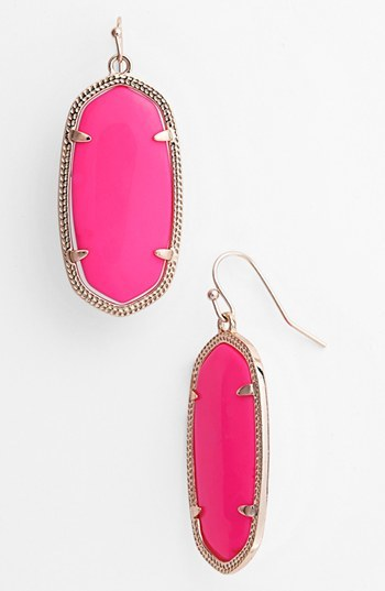 products grande bee kate handpicked pink coral collections neon queen by colours tassel earrings