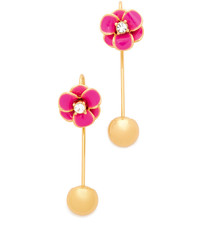 Kate Spade New York Shine On Flower Hanger Earrings