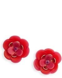 Kate Spade Rosy Posies Statet Stud Earrings