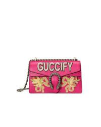 Gucci Pink Fy Dionysus Small Shoulder Bag