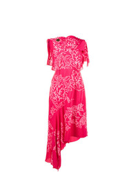 Peter Pilotto Grecian Laurel Leaf Embroidered Dress
