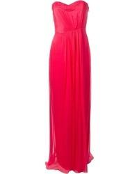 Matthew Williamson Strapless Evening Gown