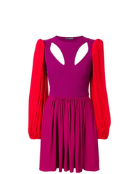 Alexander McQueen Colourblock Mini Dress