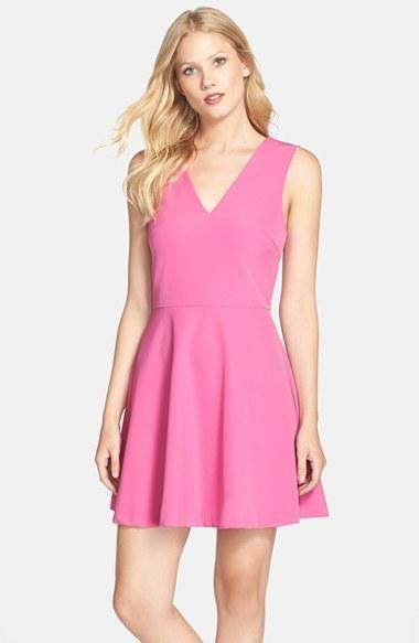 fdf6e71a9e ... Nordstrom Felicity Coco Back Cutout Fit Flare Dress ...