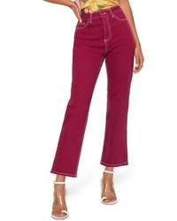 Topshop Cassis Straight Leg Jeans