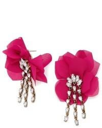 BaubleBar Amaryllis Floral Drop Earrings