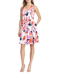 Lauren Ralph Lauren Floral Fit And Flare Dress