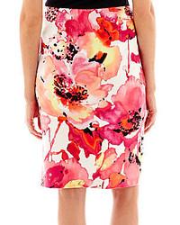 e79bc0835 jcpenney Worthington Floral Print Pencil Skirt Petite, $36 ...