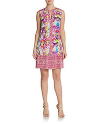 Floral print shift dress medium 95356