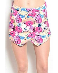 Pretty Little Things Floral Skort