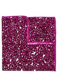 hook + ALBERT Bright Floral Silk Pocket Square