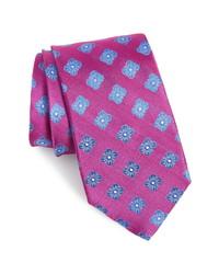 Nordstrom Men's Shop Cameron Floral Medallion Silk Tie