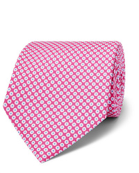 Emma Willis 9cm Floral Print Silk Twill Tie