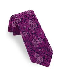 Ted Baker London Tonal Botanical Silk Tie