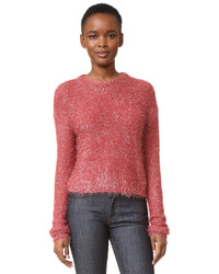 Women s Hot Pink Crew-neck Sweaters from shopbop.com  892ab48c37b6