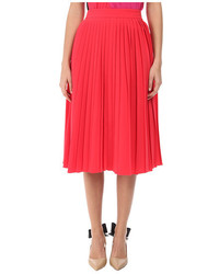 New york accordion pleat crepe skirt medium 3722265